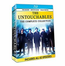 THE UNTOUCHABLES: COMPLETE COLLECTION - BLU RAY - Region A - Sealed