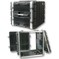 "NEW PA DJ 10RU Equipment Rack Mount Flight Storage Case.Concert.19"" Stage."
