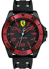 Ferrari Scuderia XX Kers Black Rubber Mens Watch 0830306