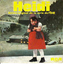 "7"" BSO OST HEIDI capitulo 11 TV SPAIN 1976 children's story infantiles OSHIETE"