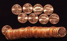 1997-D Lincoln cent   - 2 BU Uncirrculated rolls -  ( 100 coins )