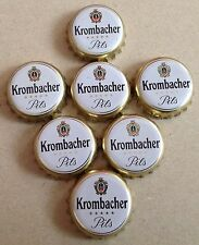 7x Kronkorken Krombacher Pils Kreuztal Nordrhein Westfalen - Crown/Bottle caps