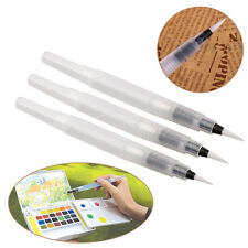3 Sizes Water Brush Watercolor Pilot Ink Pen Calligraphy Painting Drawing Tools