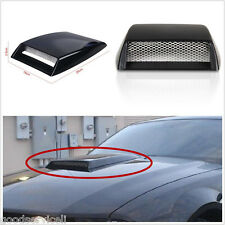 Car Auto Front Bonnet Hood Side Fender Decorative 3D simulation Air Flow Intake