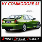 REAR WING BOOT SPOILER FOR VY VZ COMMODORE SEDAN - VY SS - NEW - ABS PLASTIC