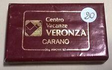 SAPONETTA CENTRO VACANZE VERONZA CARANO (TN) - RETTANGOLARE -  INCARTATA  - N.20