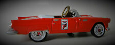 1956 Ford Red Tbird Pedal Car A Vintage Hot T Rod Midget Metal Show Model 1955