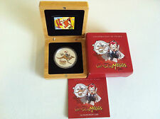2012 $1 CELEBRATING 90 YEARS OF GINGER MEGGS 1OZ SILVER PROOF COIN