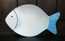 Carved Wooden Fish Dish - BNWT