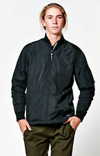 NEW MEN'S BLACK OBEY UNDERGROUND BOMBER JACKET  SIZE SMALL NWOT