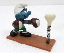 SCHLEICH 40508-GERMANY-PUFFO PUGILE (punching ball n/original)-SMURF-PUFFI-USATO