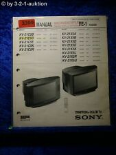 Sony Service Manual KV 21C5D / 21X5D /A /B /E /K /U Color TV  (#3399)