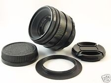 Helios 44-2 2/58 f/2 USSR M42 lens for NIKON with focus to INFINITY EXC 79