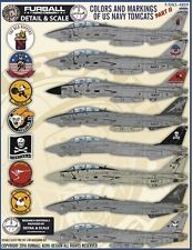 "Furball Aero-Design 1/48 ""Colors and Markings of US Navy Tomcats Part II"" # S480"