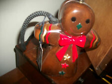 timmy woods purse-unused GINGERBREAD GIRL. beautiful; wonderful cond..