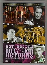 (GW80) 3 Classic Westerns Of The Silver Screen, Vol 6 - 2004 DVD