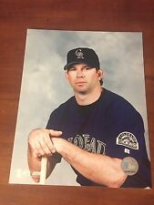Todd Helton SIGNED 8 X 10 Photo Autographed