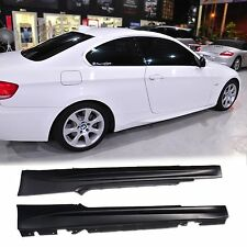 BMW E92 M3 Coupe E93 M3 07-11 Side Skirts 320i 323i 325i 328i 330i 335i PP Paint