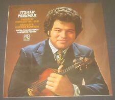 Paganini Concerto No.1 Sarasate Carmen Fantasy Perlman / Foster HMV EMI LP EX