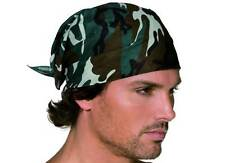 ARMY CAMOFLAGE  BANDANA, FANCY DRESS ACCESSORY #US