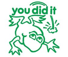 You Did It - Self inking teacher reward xstamper stamp