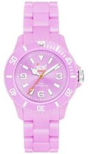 Ice-Watch Classic Pastel Purple Dial Plastic Link Bracelet