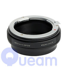 Pixco Adjustable Aperture Pentax K PK Lens to Micro Four Thirds m43 Adapter