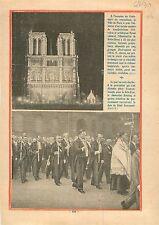 Illuminations Projecteur Notre-Dame de Paris/Heinrich Brüning  1930 ILLUSTRATION