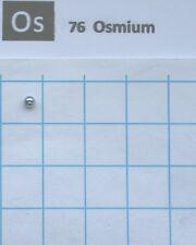 0.15 gram 99.995% Solid Osmium Metal pellet - Pure Element 76 sample