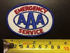 """Vintage - Embroidery Patch - AAA Emergency Service - 3 1/4"""""""