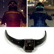 Wireless Motorcycle Motorbike Helmet LED Turn Signal Warning Brake Light