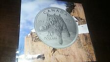 2014 20$ Fine Silver Coin BOBCAT LYNX MINT Canada Pure 0.9999 Sealed