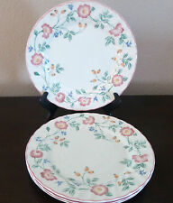 Churchill Fine English Tableware Briar Rose Dinner Plates x4 Pink/Purple Flower