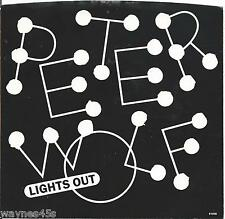 PETER WOLF * PICTURE SLEEVE ONLY * NO 45 * 1984 * Lights Out * Nice !
