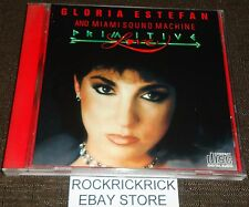 GLORIA ESTEFAN AND MIAMI SOUND MACHINE - PRIMITIVE LOVE -10 TRACK CD-