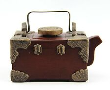 PEOPLE'S REPUBLIC OF CHINA YIXING ZISHA CLAY ARTISTIC TEAPOT AND COVER # 7