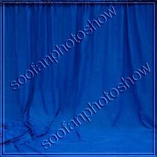 10x20Heavy Duty Solid Muslin Background backdrop Blue