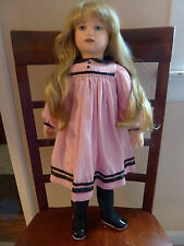 "Sweet 23"" ""Sara Rose"" Lenci Style Felt Doll by Carla Thompson with Tag & COA"