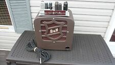 BELL & HOWELL FILMOSOUND 25L6 TUBE AMPLIFIER JENSEN SPEAKER GUITAR AMP PROJECT