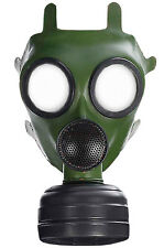 Chemical Gas Mask Costume Accessory Green