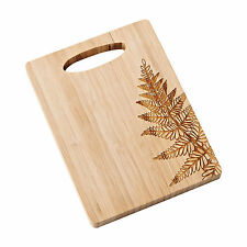 Department 56 ~ Forest Lane Willow Fern Bamboo Cheeseboard Cutting Board
