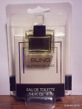 SUNG BY ALFRED SUNG MINI EAU DE TOILETTE EDT .14 OZ NEW IN BOX AND PACKAGE