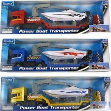 Teama Diecast Power Boat Transporter Model Toy (BT256-ANY)