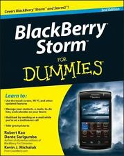 BlackBerry Storm For Dummies (For Dummies (Computer/Tech))-ExLibrary