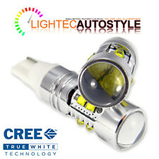 XENON WHITE CREE HIGH POWER CANBUS 50W 501 W5W T10 SIDELIGHT LED BULBS 12V