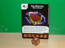 DICE MASTERS YU-GI-OH! Rare - 098 Ring of Magnetism