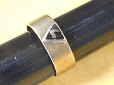 10K SOLID GOLD Mens Antique Masonic Virtus Junxit Mors Non Separabit Ring Sz 10