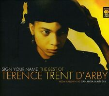 Sign Your Name: Very Best Of Terence Trent D'Arby - T (2007, CD NIEUW)2 DISC SET