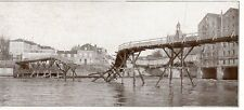 77 MEAUX PONT DETRUIT DESTOYED BRIDGE GUERRE 14/18 WW1 IMAGE 1914 PRINT