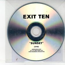 (DV306) Exit Ten, Sunset - 2012 DJ CD